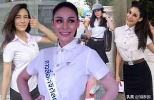 2019年泰国小姐冠军日常校服美照欣赏