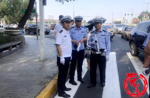 严查鸣笛等违法行为 哈尔滨交警多措并举护航中考