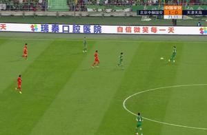 郑智接班人!北京国安归化第一人神跑位进球,预定国足主力位置!