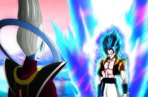 龙珠:维斯和蓝超悟吉塔谁更强!当两人战斗时比鲁斯的表情很精彩