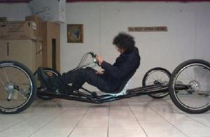 """Civilian ox person """" bicycle changes motor """" , l"""