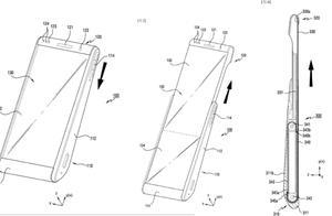 手机显示屏也能滚动起来了?三星新专利曝光