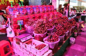 """深圳人你还吃得起水果?看完荔枝苹果香蕉价马上""""剁手"""""""