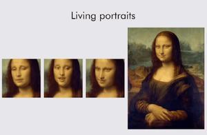 这种新的 AI 技术只要你的一张照片,就能伪造出一段视频