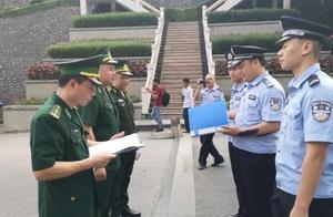 越南谅山省警方向广西凭祥警方移交8名涉嫌电信诈骗嫌疑人