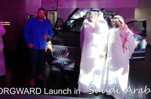 宝沃汽车,被吐槽挂羊头卖狗肉,可它都卖到迪拜去了