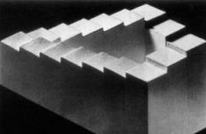 诡异的彭罗斯阶梯,似乎永远也走不到尽头,这是什么原理?