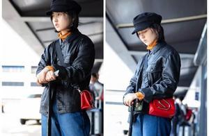 张子枫前往金马奖,复古风穿搭似穿越,妹妹这次成时髦精!