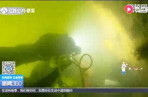 当人类停止采砂后,记者探秘水下世界,环境变化极大!