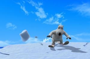 倒霉熊:贝肯来到了雪山之中,结果遇到了史无前例的大雪崩