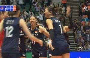 大逆转!连胜三局 中国女排3-2意大利 女排姑娘们疯狂庆祝