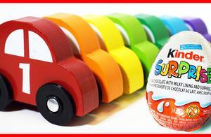 可爱玩具小汽车和惊喜出奇蛋,shopkins购物精灵玩具拆拆乐