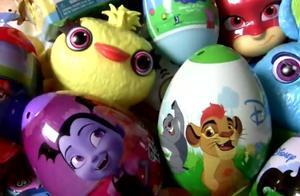惊喜蛋玩具总动员4更亲切的蛋小狗,狮子守护猪