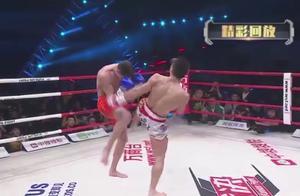 三拳打破外国拳王空虚防守,他是打老外最来劲得中国人!