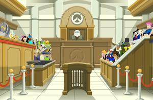 守望先锋动画-善良的死神与邪恶的小美以及一群吃瓜群众