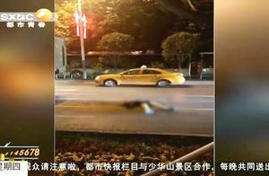 西安凌晨发生惨烈车祸,女子遭渣土车碾压,目击者:上半身没有了