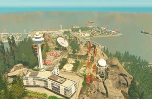 未来钓鱼岛市:5万人口小城市,轻轨,跨海大桥,机场应有尽有