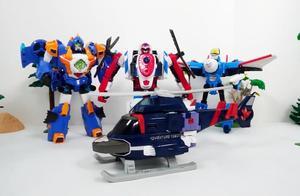 儿童趣味战斗飞机变形金刚玩具