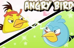 愤怒的小鸟动画版,小黄与小蓝的沙雕日常