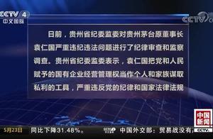 贵州茅台原董事长袁仁国被双开:国有企业当成个人家族私利工具