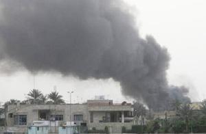美国大使馆险些被炸:元凶是一枚从大学内发射的火箭弹