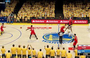 NBA2K19总决赛:勇士vs猛龙第三场!库里炸裂表现难取胜利!