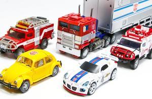 变形金刚G1彩色电影汽车人擎天柱大黄蜂爵士汽车机器人玩具