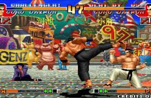 拳皇97:小胖战术裸杀拿到5连胜,河池大门翻盘洗刷耻辱
