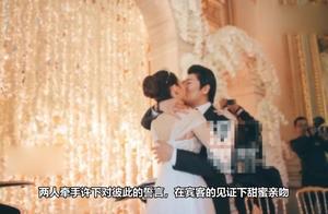 郎朗婚礼现场被曝光,跟24岁甜美韩德混血妻子甜蜜拥吻