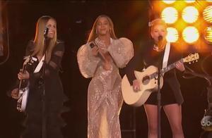 经典超嗨现场 Beyonce碧昂丝 联手南方小鸡 献唱CMA乡村音乐大奖