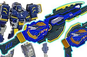 迷你特工队微型X型双剑枪变形金刚恐龙玩具开箱