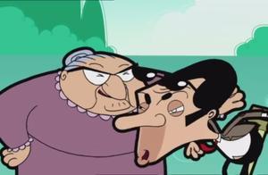 憨豆先生:冒牌的憨豆被房东太太整惨了…
