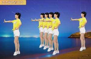 32步DJ版蹦跳广场舞《眉飞色舞》,这歌听着带劲,舞蹈也不错