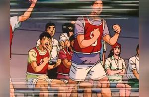 灌篮高手:静冈的激战!湘北最后几分钟狂砍16分,打的服服帖帖