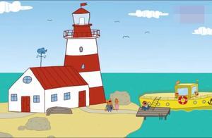 咪好一家:猫咪一家出海拍鲸鱼猫爸爸脚滑掉到海里,大家吓坏了!