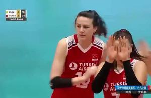 瑞士女排精英赛:中国女排1-3不敌土耳其女排,仅获得第六名