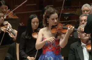 希拉里·哈恩小提琴演奏贝多芬《D大调小提琴协奏曲第三乐章》