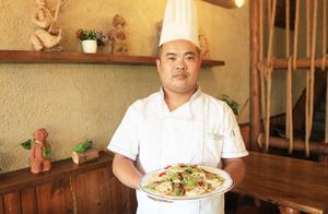 大厨教你做家常菜,小炒藕片,简单好做,爽口特别的脆