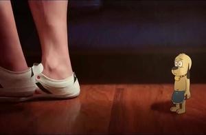 功夫兔与菜包狗:菜包狗化身舞蹈小王子,这舞蹈功底,让人羡慕啊