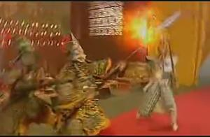 孙悟空成佛后与如来发生冲突,结果一个回合就被打翻在地