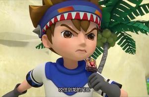 心奇爆龙战车之驯龙斗士:永不认输的霸王龙、