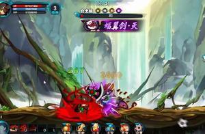 造梦西游5:魔猿悟空厉害,直接把boss干掉了这么多血!
