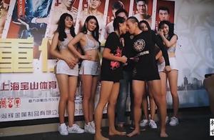 中国美女遭日本人无礼推搡被惹毛,场上狂砸几十拳打服对手