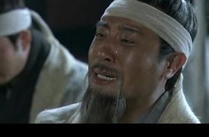 张苞跪在张飞灵位前,求刘备为爹报仇,刘备:我恨孙权,要灭其族