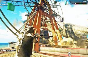 小林 正当防卫4 将先锋运输船召唤在游乐场,摧毁一切!
