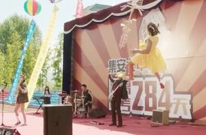 缝纫机乐队:小胖子炫神技!飞龙在天说来就来,出场方式狂拽炫!