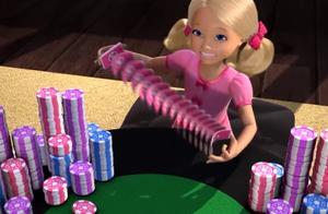 芭比之梦想豪宅:芭比送肯礼物,这礼物炫到爆,芭比姐妹都心动了