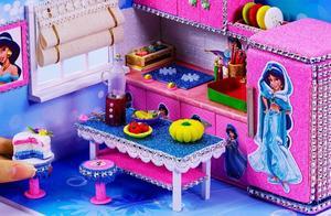 diy微型制作:阿拉伯公主的漂亮珠宝盒子