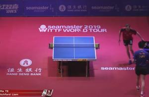 2019香港乒乓球公开赛,皮切福德 vs 马特
