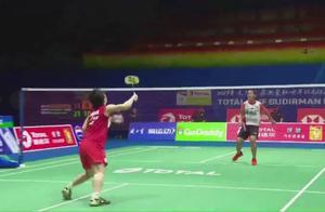 2019苏迪曼杯 日本3:1战胜印度尼西亚 将和中国队争夺冠军